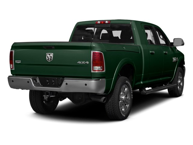 Timberline Green Pearlcoat 2014 Ram Truck 3500 Pictures 3500 Mega Cab SLT 2WD photos rear view