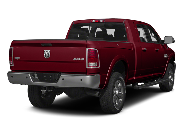 Deep Cherry Red Crystal Pearlcoat 2014 Ram Truck 3500 Pictures 3500 Mega Cab SLT 2WD photos rear view
