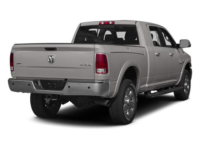 Bright Silver Metallic Clearcoat 2014 Ram Truck 3500 Pictures 3500 Mega Cab SLT 2WD photos rear view