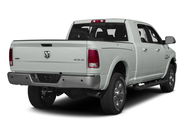 Bright White Clearcoat 2014 Ram Truck 3500 Pictures 3500 Mega Cab Limited 2WD photos rear view