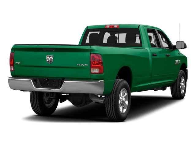 Bright Green 2014 Ram Truck 3500 Pictures 3500 Crew Cab SLT 2WD photos rear view