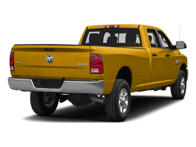 School Bus Yellow 2014 Ram Truck 3500 Pictures 3500 Crew Cab SLT 2WD photos rear view