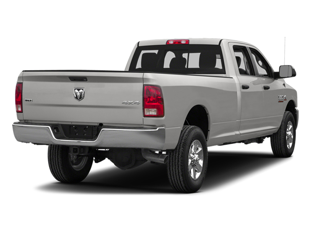 Bright Silver Metallic Clearcoat 2014 Ram Truck 3500 Pictures 3500 Crew Cab Longhorn 4WD photos rear view