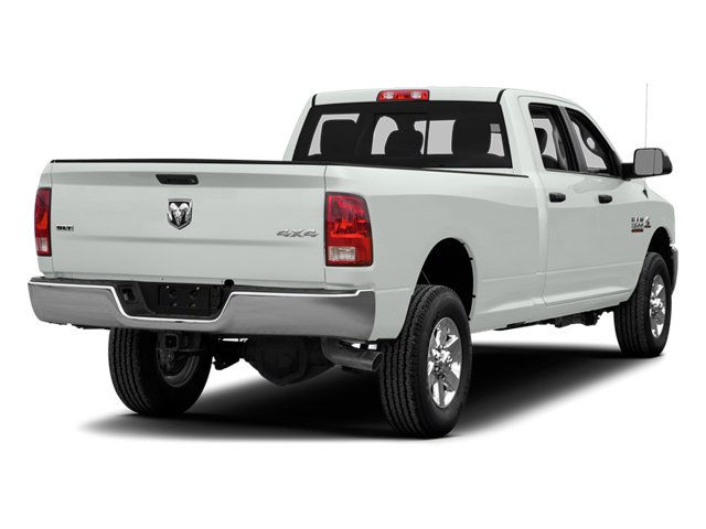 Bright White Clearcoat 2014 Ram Truck 3500 Pictures 3500 Crew Cab Longhorn 4WD photos rear view