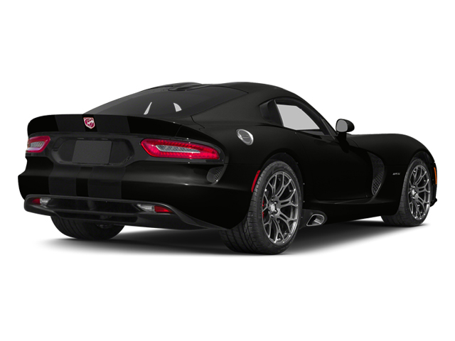 Venom Black Clearcoat 2014 Dodge SRT Viper Pictures SRT Viper 2 Door Coupe photos rear view