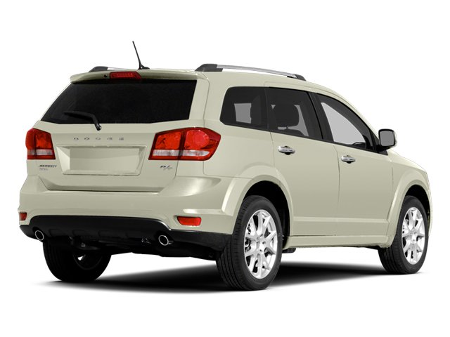 Pearl White Tri-Coat 2014 Dodge Journey Pictures Journey Utility 4D Crossroad AWD photos rear view