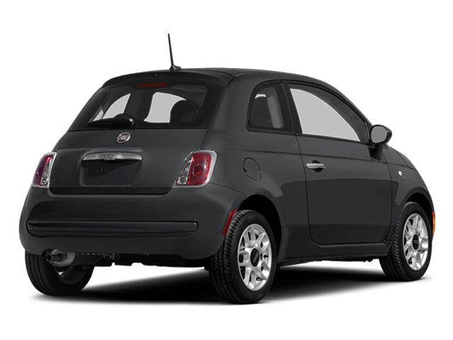 Granito Lucente (Granite Crystal) 2014 FIAT 500 Pictures 500 Hatchback 3D Sport I4 photos rear view