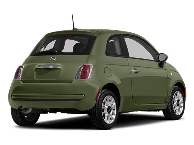 Verde Oliva (Olive Green) 2014 FIAT 500 Pictures 500 Hatchback 3D Sport I4 photos rear view