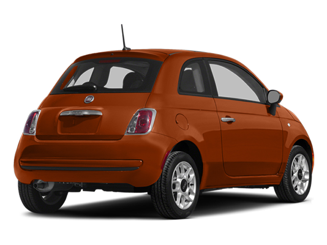 Rame (Copper) 2014 FIAT 500 Pictures 500 Hatchback 3D Sport I4 photos rear view