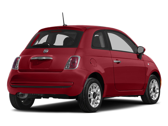 Rosso (Red) 2014 FIAT 500 Pictures 500 Hatchback 3D Sport I4 photos rear view