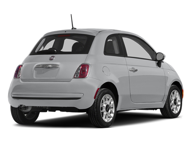 Argento (Silver) 2014 FIAT 500 Pictures 500 Hatchback 3D Sport I4 photos rear view