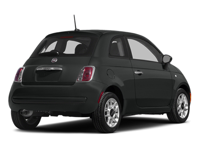 Nero Puro (Straight Black) 2014 FIAT 500 Pictures 500 Hatchback 3D Sport I4 photos rear view