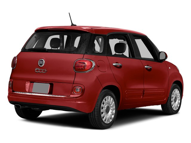 Rosso (Red) 2014 FIAT 500L Pictures 500L Hatchback 5D L Lounge I4 Turbo photos rear view