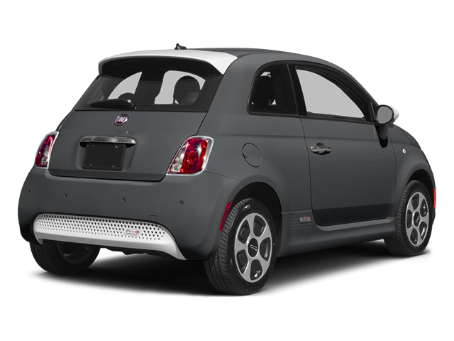 Granito Lucente (Granite Crystal) 2014 FIAT 500e Pictures 500e Hatchback 3D 500e Electric photos rear view
