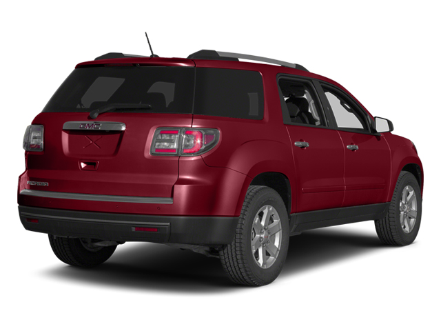 Crystal Red Tintcoat 2014 GMC Acadia Pictures Acadia Wagon 4D SLE 2WD photos rear view