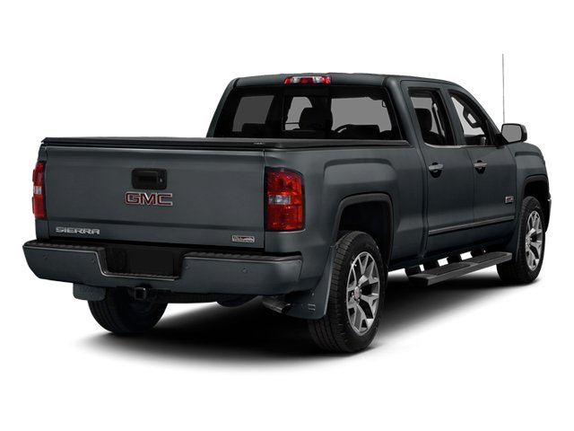 Stealth Gray Metallic 2014 GMC Sierra 1500 Pictures Sierra 1500 Crew Cab 2WD photos rear view