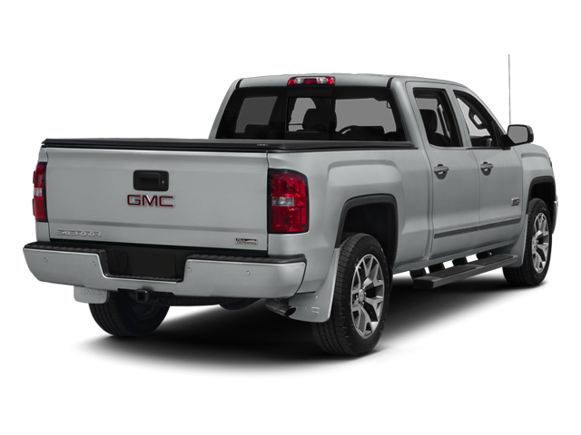 Quicksilver Metallic 2014 GMC Sierra 1500 Pictures Sierra 1500 Crew Cab 2WD photos rear view