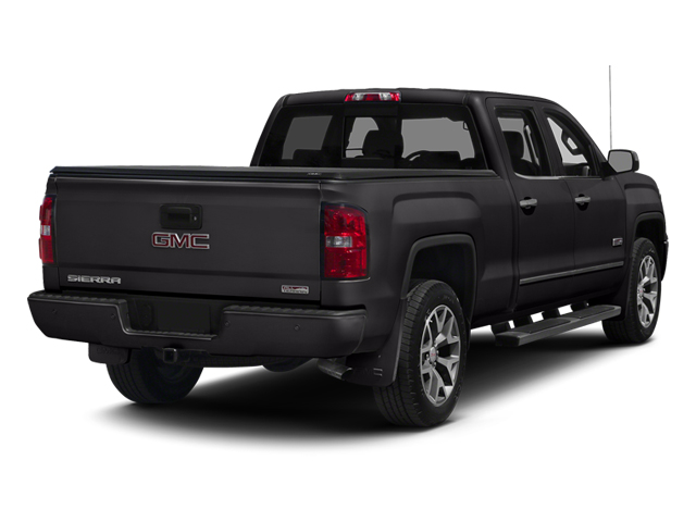 Onyx Black 2014 GMC Sierra 1500 Pictures Sierra 1500 Crew Cab 2WD photos rear view