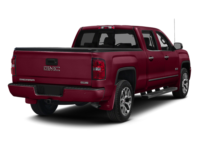 Sonoma Red Metallic 2014 GMC Sierra 1500 Pictures Sierra 1500 Crew Cab 2WD photos rear view
