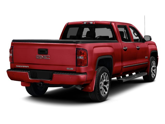 Fire Red 2014 GMC Sierra 1500 Pictures Sierra 1500 Crew Cab 2WD photos rear view