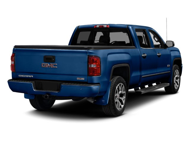 Cobalt Blue Metallic 2014 GMC Sierra 1500 Pictures Sierra 1500 Crew Cab 2WD photos rear view