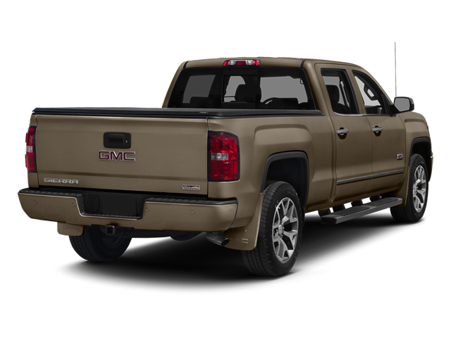 Bronze Alloy Metallic 2014 GMC Sierra 1500 Pictures Sierra 1500 Crew Cab 2WD photos rear view