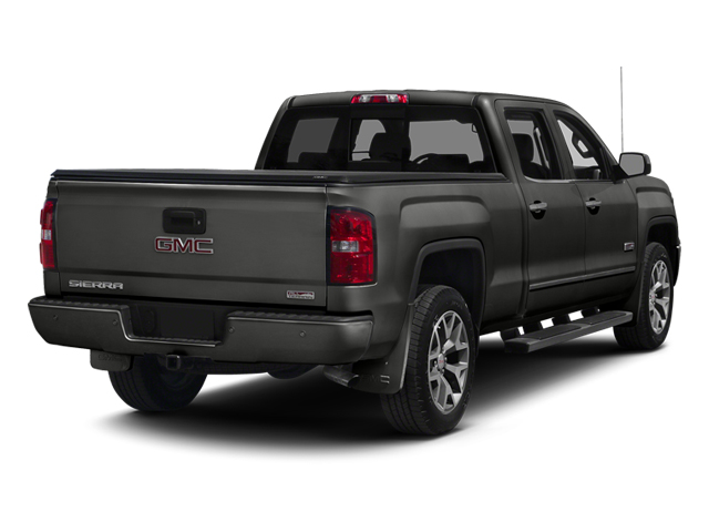 Iridium Metallic 2014 GMC Sierra 1500 Pictures Sierra 1500 Crew Cab 2WD photos rear view