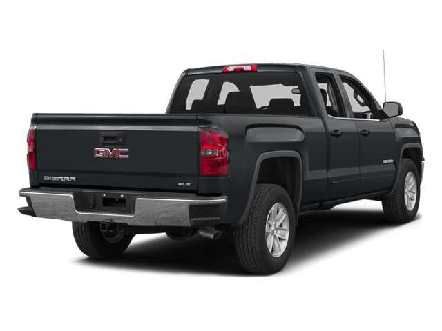 Stealth Gray Metallic 2014 GMC Sierra 1500 Pictures Sierra 1500 Extended Cab SLE 2WD photos rear view