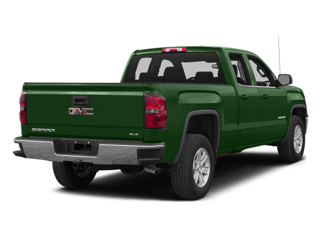 Emerald Green Metallic 2014 GMC Sierra 1500 Pictures Sierra 1500 Extended Cab SLE 2WD photos rear view