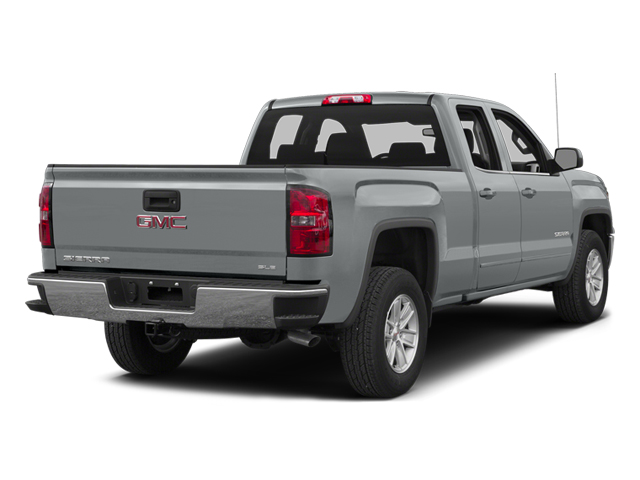 Quicksilver Metallic 2014 GMC Sierra 1500 Pictures Sierra 1500 Extended Cab SLE 2WD photos rear view