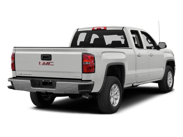 Summit White 2014 GMC Sierra 1500 Pictures Sierra 1500 Extended Cab SLE 2WD photos rear view