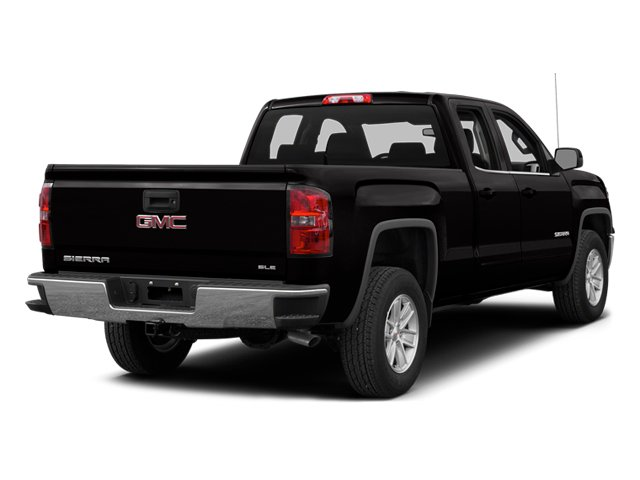 Onyx Black 2014 GMC Sierra 1500 Pictures Sierra 1500 Extended Cab SLE 2WD photos rear view