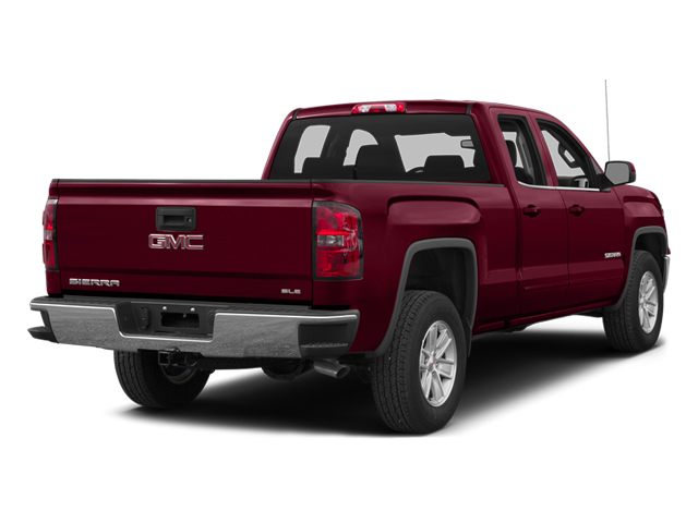 Sonoma Red Metallic 2014 GMC Sierra 1500 Pictures Sierra 1500 Extended Cab SLE 2WD photos rear view