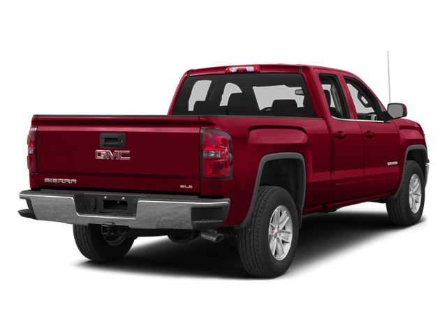 Fire Red 2014 GMC Sierra 1500 Pictures Sierra 1500 Extended Cab SLE 2WD photos rear view