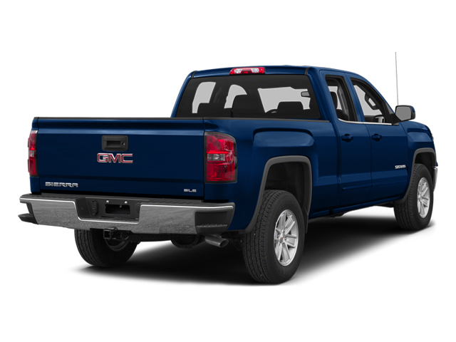 Cobalt Blue Metallic 2014 GMC Sierra 1500 Pictures Sierra 1500 Extended Cab SLE 2WD photos rear view