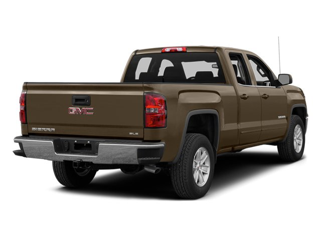Bronze Alloy Metallic 2014 GMC Sierra 1500 Pictures Sierra 1500 Extended Cab SLE 2WD photos rear view