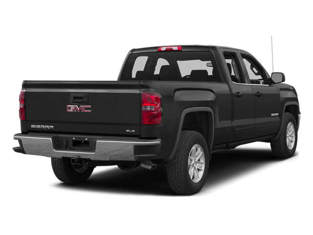 Iridium Metallic 2014 GMC Sierra 1500 Pictures Sierra 1500 Extended Cab 4WD photos rear view