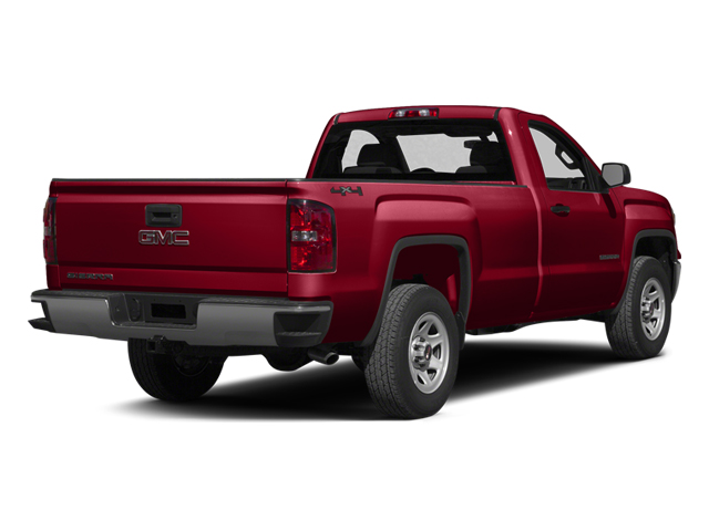 Fire Red 2014 GMC Sierra 1500 Pictures Sierra 1500 Regular Cab 4WD photos rear view