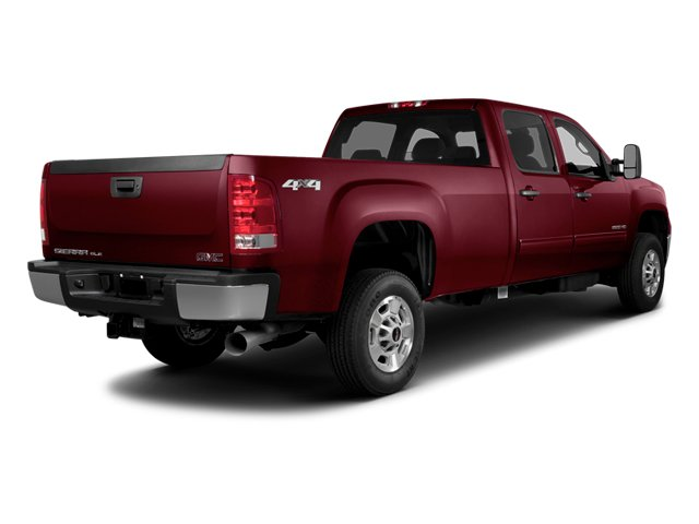 Sonoma Red Metallic 2014 GMC Sierra 2500HD Pictures Sierra 2500HD Crew Cab SLT 2WD photos rear view