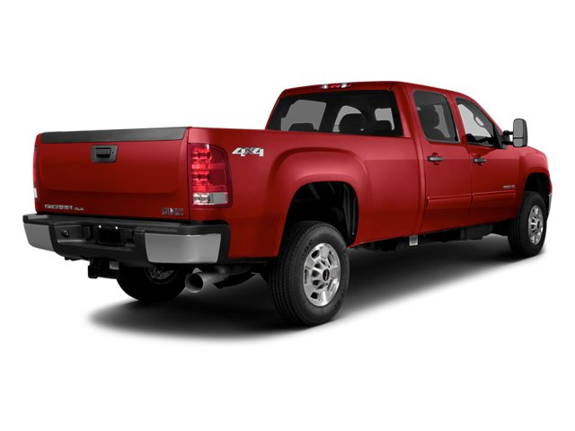 Fire Red 2014 GMC Sierra 2500HD Pictures Sierra 2500HD Crew Cab SLT 2WD photos rear view