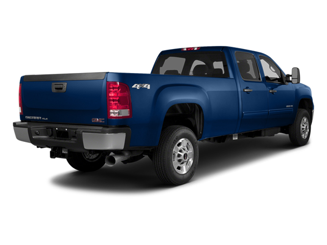 Heritage Blue Metallic 2014 GMC Sierra 2500HD Pictures Sierra 2500HD Crew Cab SLT 2WD photos rear view