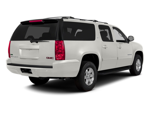Summit White 2014 GMC Yukon XL Pictures Yukon XL Utility K1500 SLE 4WD photos rear view