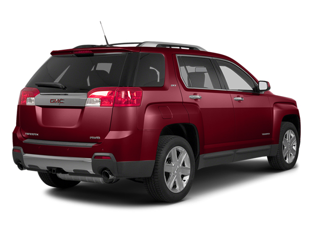 Crystal Red Tintcoat 2014 GMC Terrain Pictures Terrain Utility 4D SLT AWD photos rear view