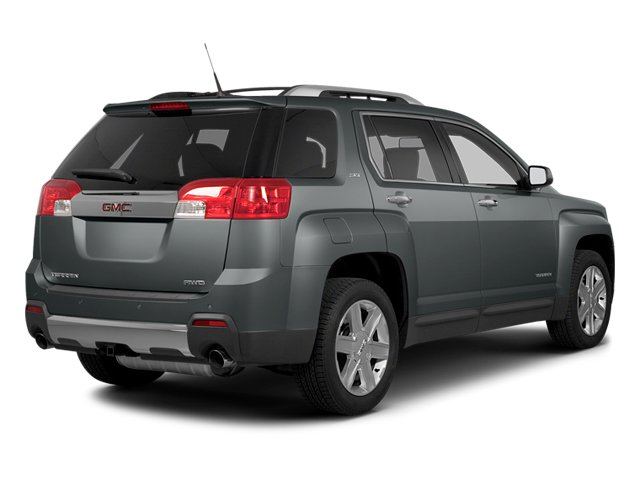 Ashen Gray Metallic 2014 GMC Terrain Pictures Terrain Utility 4D SLT AWD photos rear view