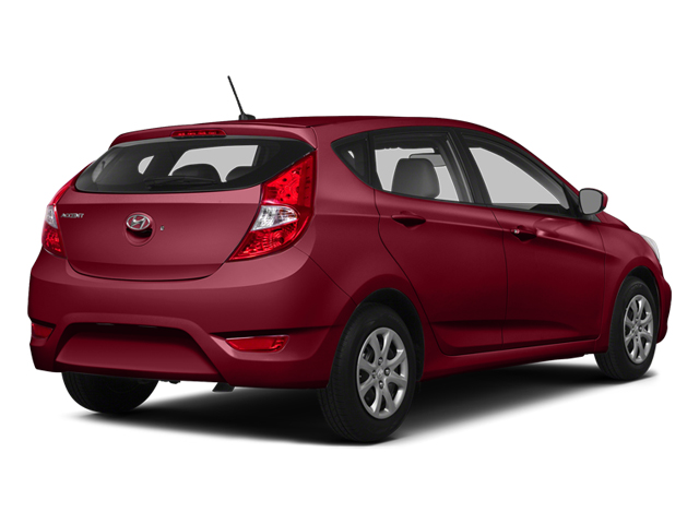 Boston Red Pearl 2014 Hyundai Accent Pictures Accent Hatchback 5D GS I4 photos rear view