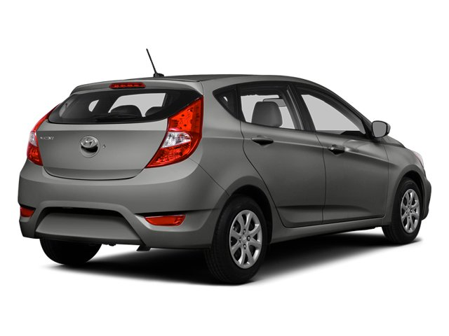 Ironman Silver Metallic 2014 Hyundai Accent Pictures Accent Hatchback 5D GS I4 photos rear view
