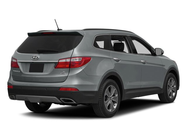 Iron Frost 2014 Hyundai Santa Fe Pictures Santa Fe Utility 4D GLS Technology AWD photos rear view