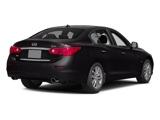 Malbec Black 2014 INFINITI Q50 Pictures Q50 Sedan 4D Sport V6 photos rear view
