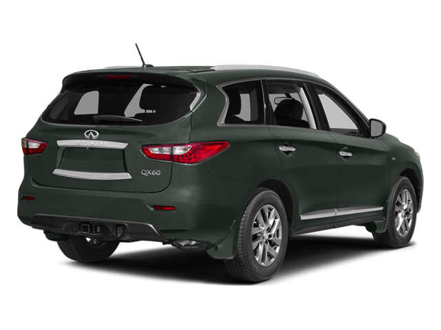 Emerald Graphite 2014 INFINITI QX60 Pictures QX60 Utility 4D AWD V6 photos rear view