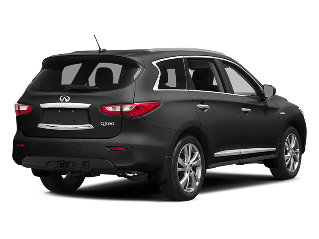Black Obsidian 2014 INFINITI QX60 Pictures QX60 Utility 4D Hybrid AWD I4 photos rear view